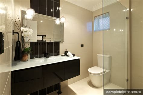 reese bathrooms dark yet stylish bathroom design ideas completehome