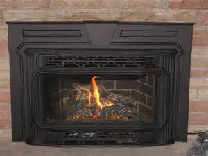 replace gas fireplace with wood insert fireplaces