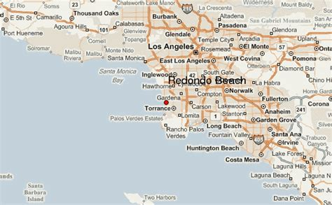 california map redondo redondo location guide