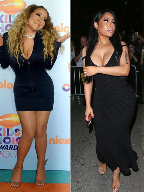 mariah carey hates nicki minaj remy ma  dont remix explained hollywood life