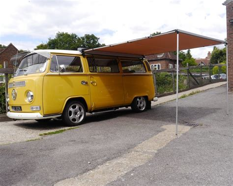vw t2 awning vw t2 bay window arb 2500mm x 2500mm awning with gw