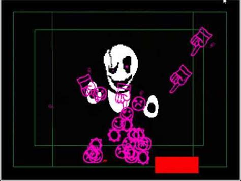undertale fan made games gaster fight fan made undertale game youtube