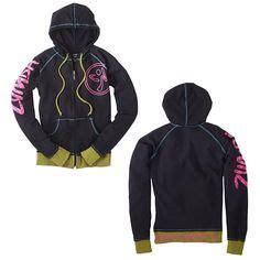 Hoodie Zipper Asus Rog Zemba Clothing glow instructor zip up hoodie 79 99 fitnessfactoryzumba boutique en ligne