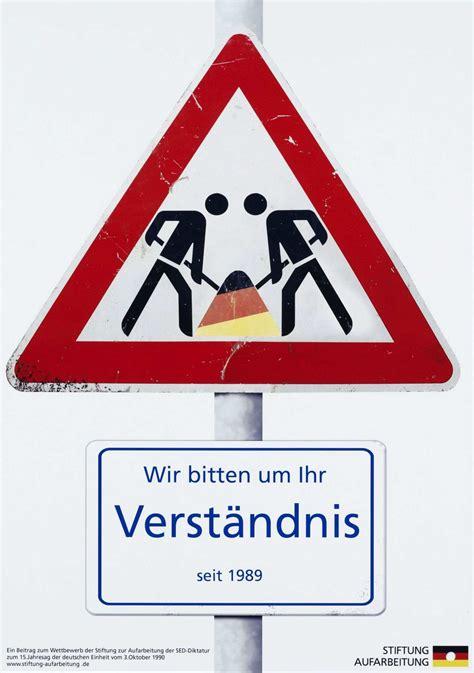 Baustellenschild Rot by Lemo Kapitel Eine Nation Zwei Gesellschaften