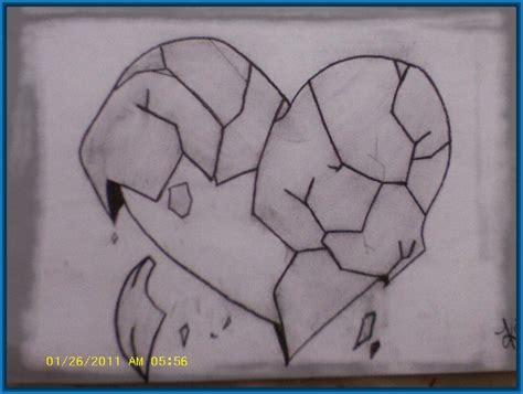imagenes 3d a lapiz faciles sencillos dibujos de corazones a lapiz en 3d dibujos de