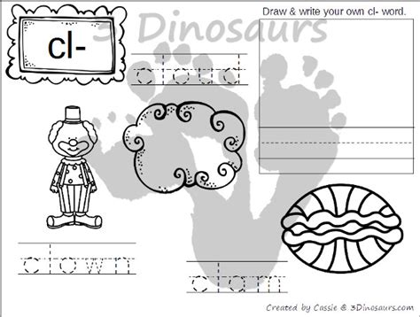 L Blends Coloring Pages by Sl Blend Worksheets For Kindergarten Consonant Blends