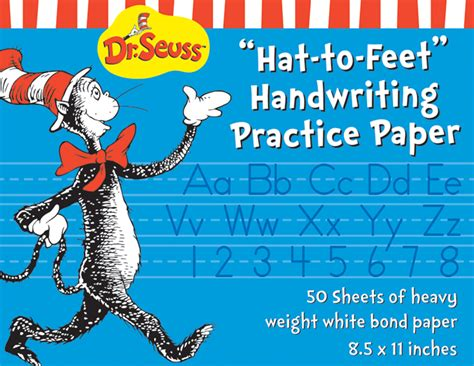 cat in the hat writing paper cat in the hat writing practice paper eureka school