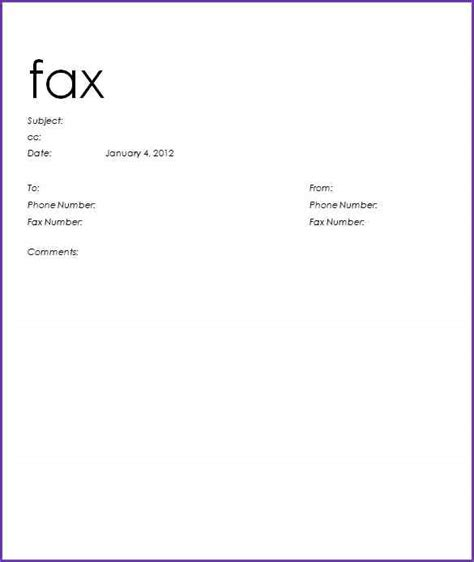 sle fax cover letter 28 printable standard fax cover sheet standard fax cover
