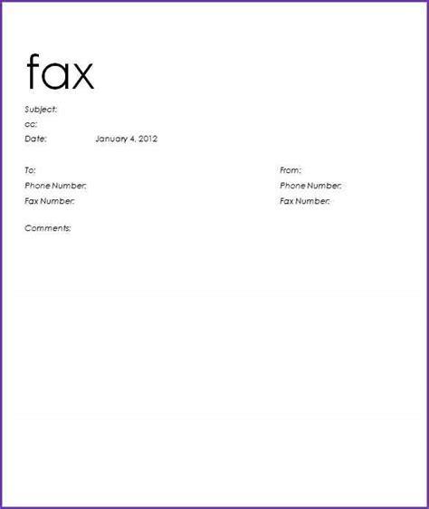 sample fax cover sheet jobproposalideas com