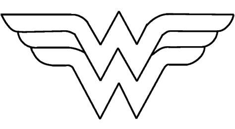wonder woman logo gif 590 215 324 coloring pages pinterest