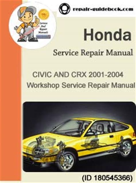how to download repair manuals 2001 honda civic engine control honda civic crx 2003 repair manual pdf download factory workshop service repair manual