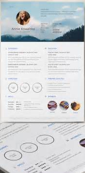Graphic Resume Templates Free by 15 Free Modern Cv Resume Templates Psd