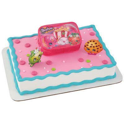 Shopkins Cake Topper Shoppin new shopkins to shopping cake kit set new release ebay