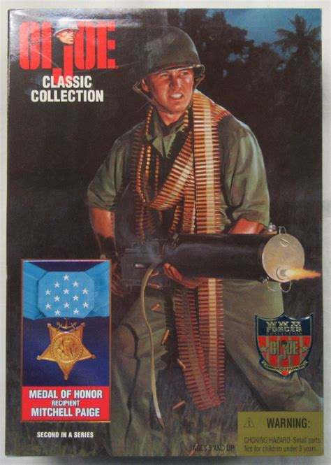 Gi Joe Shadow Assassin 16 Scale g i joe classic collection medal of honor mitchell mib factory sealed big toys