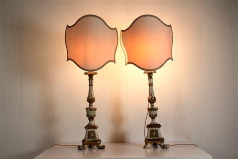 base per lada vidi da due bei lumi coppia di torcieri in legno adattati