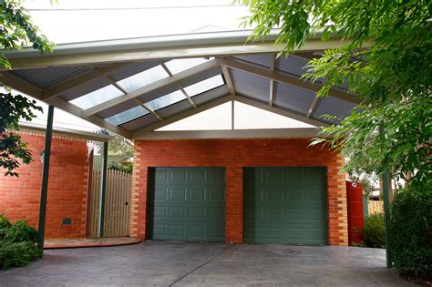 Roof For Carport by Carport Attached Gable Roof 9m X 7m Smartkits