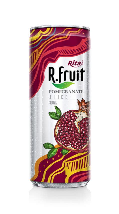 fruit 66 drinks 330ml pomegranate fruit juice label beverages