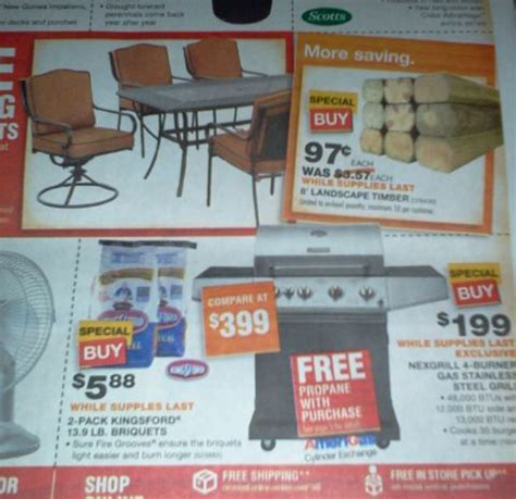 home depot memorial day sale who said nothing in is