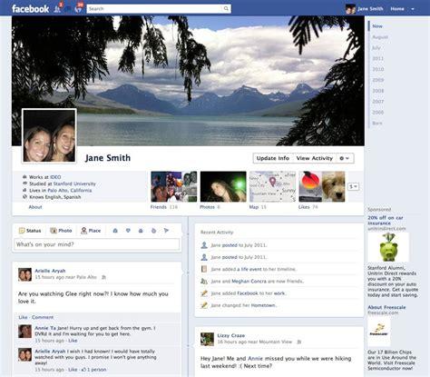imagenes para perfil de facebook nuevo demo de quot cronolog 237 a quot el nuevo perfil de facebook dotpod