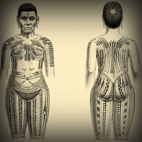 female tattoo history the art of nature tattoo history of western oceania