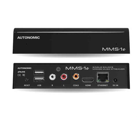 format audio mms mirage music streamer mms 1e autonomic graffiti pro audio