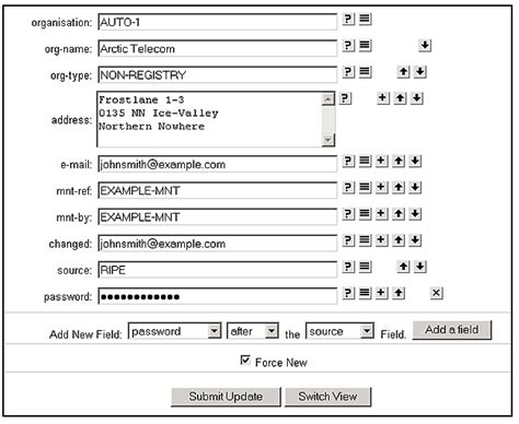 it support request form template supporting notes for the enum request form ripe network