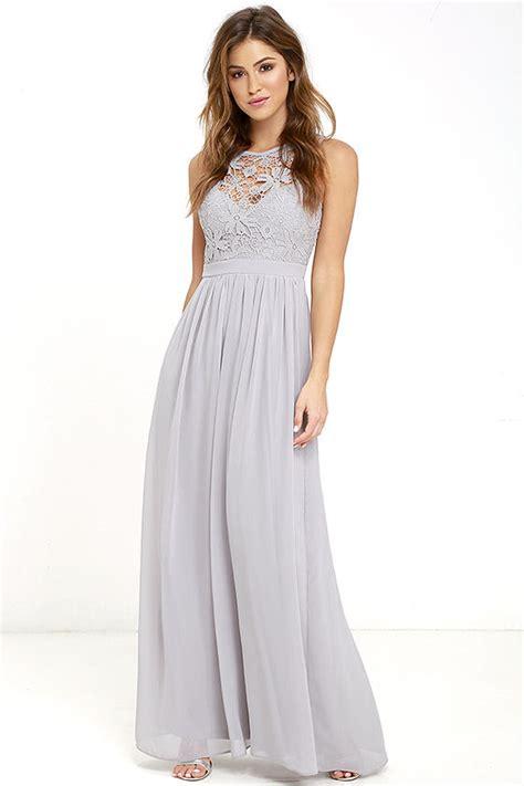 Livi Maxy Dress lovely grey dress lace dress maxi dress backless