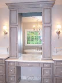 Makeup Vanity With Hutch Baltimore Bathroom Renovation Remodeling Ozcorp