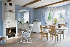Country Home Accents And Decor Blue And White Country Home In Poland 171 Interior Design Files