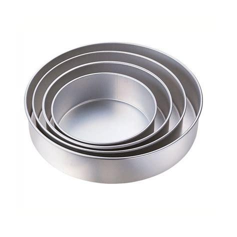 Moldes Para Gelatinas Y Pasteles | juego de 4 moldes de aluminio redondos para pastel torta