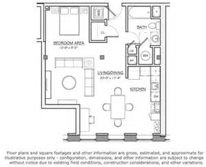Loft Layout by Floor Plan Station Lofts Apartments