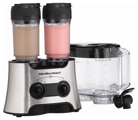 newwave kitchen appliances hamilton beach 52147 dual wave versatile blender silver