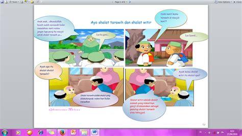 urutan teks prosedur membuat bunga dari sedotan mendidik anak dengan komik buat komik sendiri yuk oleh