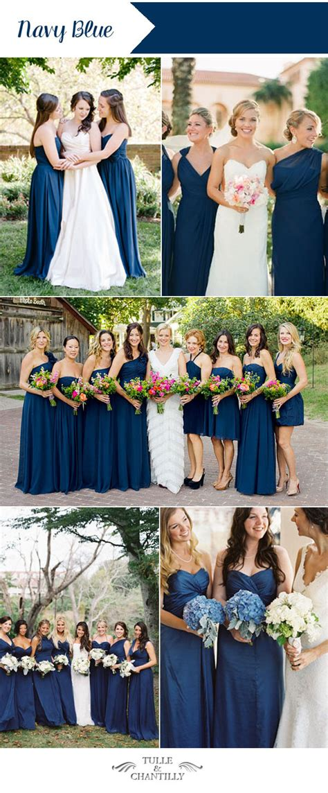 10 wedding colors for summer bridesmaid dresses 2016