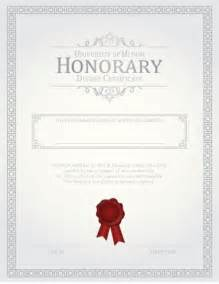 honorary certificate template 27 printable award certificates achievement merit honor