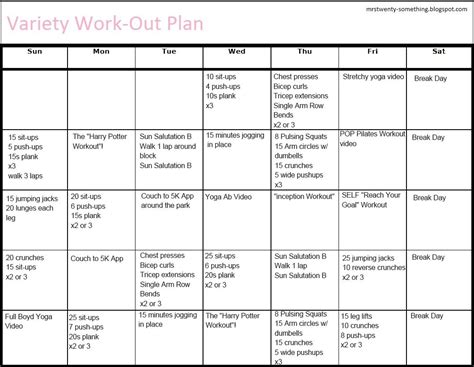 printable workout plan for the gym free printable gym workout plans eoua blog