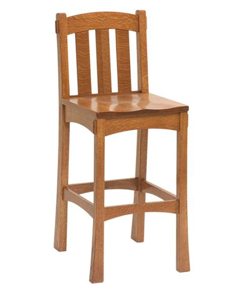 Amish Oak Bar Stools by Modesto Bar Stool Amish Direct Furniture