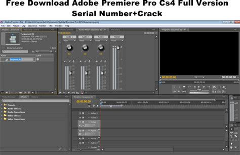 adobe premiere pro free download with crack cs4 serial скачать