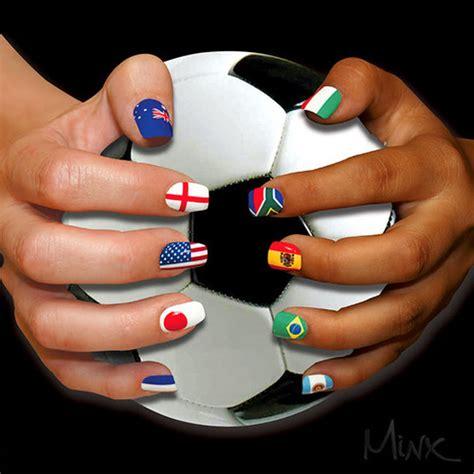 imagenes de uñas decoradas con la bandera de colombia u 241 as decoradas para el mundial de brasil 2014