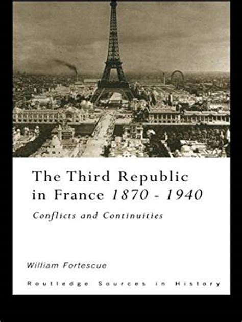 amazoncom   republic  france   conflicts  continuities routledge