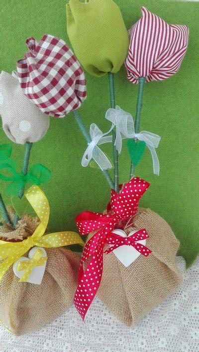 fiori feltro modelli tulipani in stoffa e fiori in feltro per la casa e per