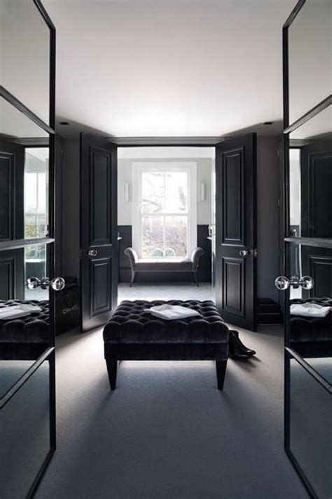 interior design black 10 walk in closets for a luxury bedroom bedroom ideas