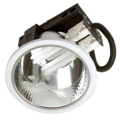 1 x 18 watt recessed compact fluorescent pl downlight