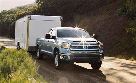 2016 Toyota Tundra Diesel Towing Capacity How Much Can The 2016 Toyota Tundra Tow