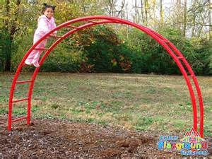 Backyard Playgrounds Arched Monkey Bar Set For Commercial Playgrounds