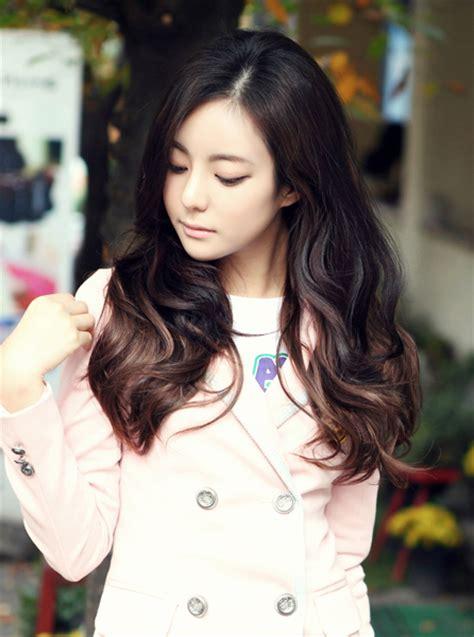 long hair perm korean for women hairstyle 2013 korean long haircut 2013