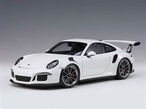 porsche white gt3 porsche 911 991 gt3 rs in white by autoart composite