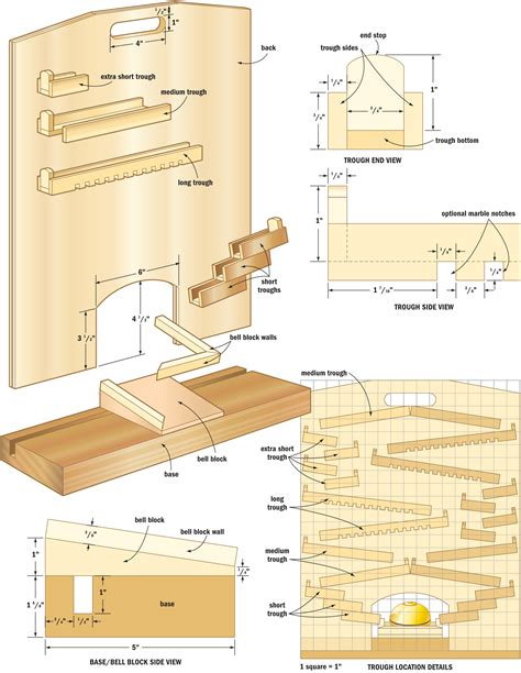 woodworking blueprints pdf diy woodworking plans marble run woodworking