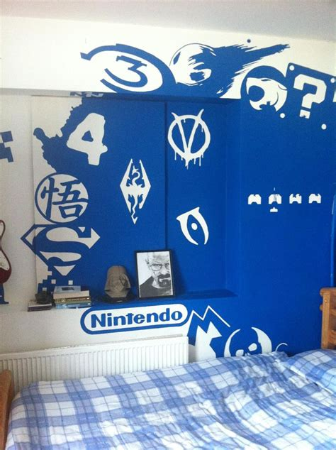 video game rooms ideas  pinterest video game storage video game bedroom  video