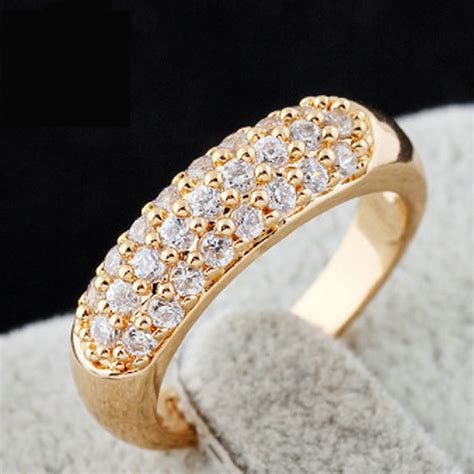 Wedding Ring 2016 by Rings 2016 18k Gold Plated Wedding Rings